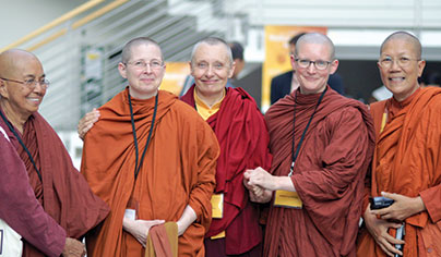 Bhikkhunis at Hamburg